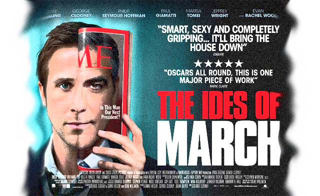 an allegorical narrative of political campaigns in the ides of march Truth, indeed, is sometimes stranger than fiction the ides of march, which was  shot in ohio, kentucky and detroit, does a  the shepard fairey-like posters of  clooney that hang throughout the morris campaign office add an.