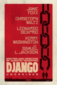 Movie Poster - Django Unchained Cast