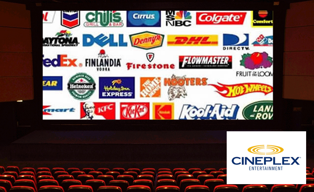 Cineplex - Too Many Ads Before the Movies