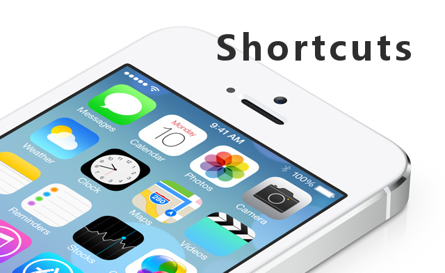 iPhone Keyboard Shortcuts — Autofill